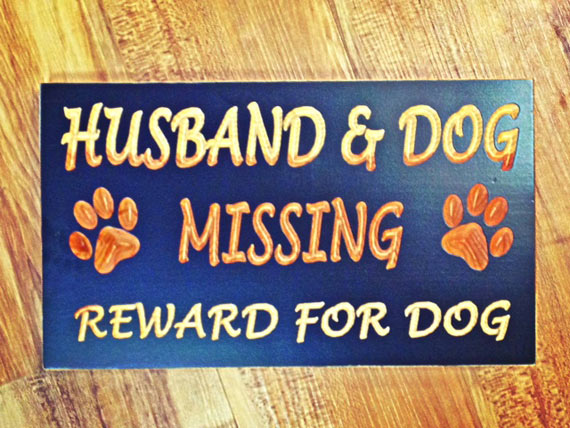 husbanddogsign